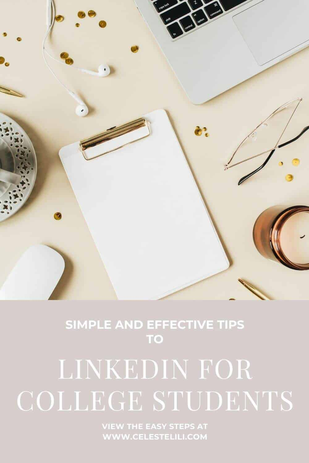 LinkedIn for College Students Pin