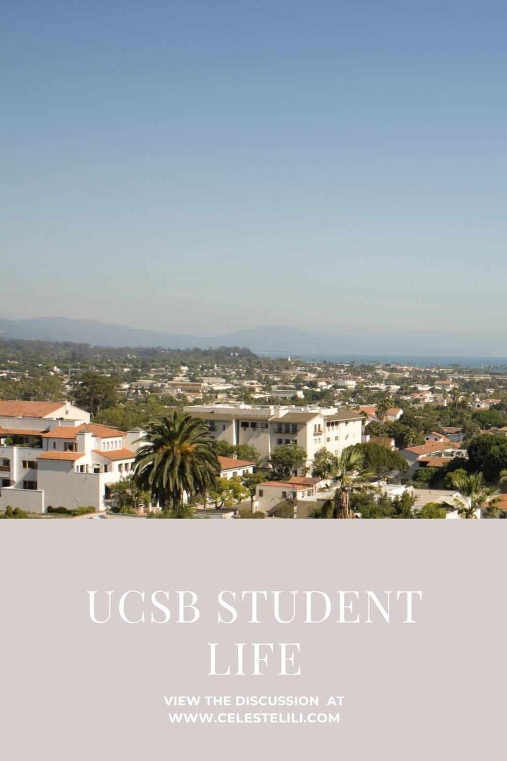 UCSB Student Life Pin
